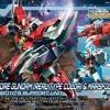 [008] HGBD:R 1/144 Core Gundam (Real Type Color) & Marsfour Unit