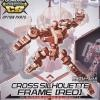[OP-05] SD Gundam Cross Silhouette Cross Silhouette Frame [Red]