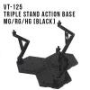 [Third Party] Triple Stand Action Base MG/RG/HG (Black)