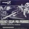 P-Bandai: HG 1/144 Emergency Escape Pod Primrose for HGUC 1/144 Hazel