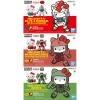 SD Ex-Standard Hello Kitty RX-78-2 and 2 Zaku 3 in 1 Set