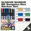 GMS118 Gundam Marker BB Sangokuden Gundam Marker Set