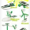 6 in 1 Solar Robot DIY Toy Kit