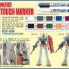 Gundam Marker - Twin Heads Real Touch GM401 (Gray)
