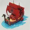 ONE PIECE [06] Kuja Nine Snake Pirate Ship