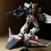 [053] HGUC 1/144 Gundam Mk-II + Flying Armor