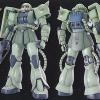 MG 1/100 MS-06J Zaku II Ver 2.0