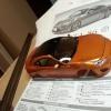 Tamiya Color Acrylic Paint X-26 (Clear Orange) (23ml)