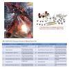 [Metal Part] MG 1/100 MSN-06S Sinanju Metal Enhancement Part Set