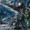 HGGT 1/144 Zaku II + Big Gun (Anime Ver.)