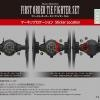 [Star Wars] Vehicle Model Series 004 - First Order Tie Fighter Set