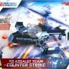 [Jie Star] Falcon Helicopter Block / Bricks Toy (Lego Resemble) - 342pcs