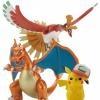 [Bandai] Pokemon Plamo Collection Houou & Lizardon & Satoshi's Pikachu Set