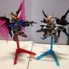 Basic Gundam Stand for SD or BB Gundam (Gray)