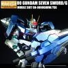 Special Coating : MG 1/100 00 Gundam Seven Sword/G (Third party paint job)