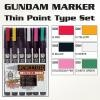 GMS110 Gundam Marker Thin Point Set