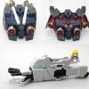 [Metal Part] PG 1/60 RX-0 Unicorn Gundam Metal Enhancement Part Set