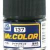 Mr. Hobby-Mr. Color-C137 Tire Black Flat (10ml)