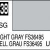 Mr. Hobby-Mr. Color-C338 Light Gray FS36495 Semi-Gloss (10ml)