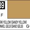Mr. Hobby-Mr. Color-C039 Dark Yellow (Sandy Yellow) 3/4 Flat (10ml)