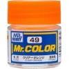 Mr. Hobby-Mr. Color-C049 Clear Orange Gloss (10ml)