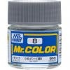 Mr. Hobby-Mr. Color-C008 Silver Metallic (10ml)
