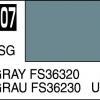 Mr. Hobby-Mr. Color-C307 Gray FS36320 Semi-Gloss (10ml)
