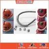 [Metal Part] Energy Cable Tubes Pipes (M Size, 4mm, Titanium Black)