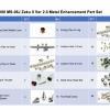 [Metal Part] MG 1/100 MS-06J Zaku II Ver 2.0 Metal Enhancement Part Set