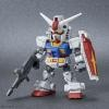 SD Gundam Cross Silhouette RX-78-2 Gundam & MS-06S ZAKU II
