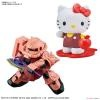SD Gundam Cross Silhouette Hello Kitty / Zaku II Principality of ZEON Char Aznable Mobile Suits