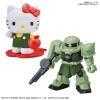 SD Gundam Cross Silhouette Hello Kitty / Zaku
