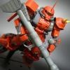 MG 1/100 MS-06S Zaku II (Johnny Ridden Custom) Ver.2.0